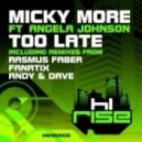 Micky More feat. Angela Johnson - Too Late (Original Mix)