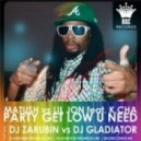 Matush vs Lil Jon feat. K.Cha - Party Get Low U Need (DJ Zarubin vs DJ Gladiatot boot-up)