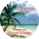 Dj.Валентин - Dont tell me goodbye