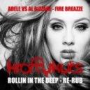 Krafty Kuts - Adele vs Al Bizzare - Fire Breazze - Rollin In The Deep -  Re-Rub