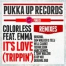 Colorless feat. Emma   - Its Love (Trippin) (Ted Nilsson Mix)