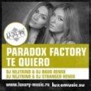 Paradox Factory - Te Quiero (DJ Nejtrino & DJ Baur Radio Edit)