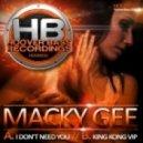 MacKy Gee - King Kong VIP