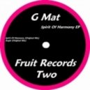 G Mat - Spirit Of Harmony (Original Mix)