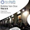 Robbie Van Doe - This Is It (Chris Porter Remix)