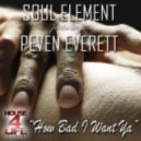Soul Element feat. Peven Everett - How Bad I Want Ya (Main Radio Mix)