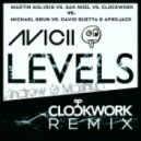 Avicii Vs Martin Solveig Vs. Sak Noel Vs. Clockwork Vs David Guetta & Afrojack - Hello, Loca Levels Vs. Lunar (Andrew G Monster Mashup)
