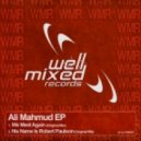 Ali Mahmud - His Name Is Robert Paulson (Original Mix)