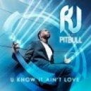 RJ feat. Pitbull - U Know It Ain\'t Love (DJ Rebel Radio Edit)