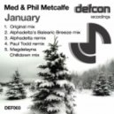 Med & Phil Metcalfe - January (Original Mix)
