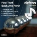 Paul Todd - Back And Forth (N&R Project Remix)