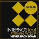 INTERNOS feat Stephen Pickup - Never Back Down (Sensetive5 Remix)