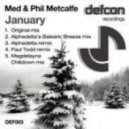Med And Phil Metcalfe - January