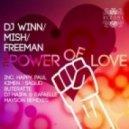 DJ Winn feat. Freeman & Mish  -  The Power of Love (Kimen Remix)