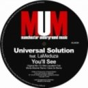 Universal Solution feat. LaMeduza  - You'll See (Save.As Remix)