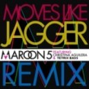 Maroon 5 Ft. Christina Aguilera  - Moves Like Jagger (Tetrix Bass Remix)