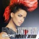 Eva Simons - I Dont Like You (Silvio Argivaes & Samuel Soares Private Remix)