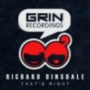 Richard Dinsdale  -  Thats Right (Original Mix)