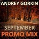 Dj Andrey Gorkin - September Promo Mix 2013