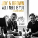 Joy & Brown feat. Sean Rumsey - All I Need Is You (Oxio Remix)