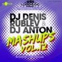 Daniel Powter vs. Gnarls Barkley - Crazy All My Life (DJ Denis Rublev & DJ Anton Mashup)