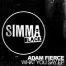 Adam Fierce - What You Say (Original Mix)