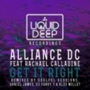 Alliance DC, Rachael Calladine - Get It Right (Baby Bump Mix)