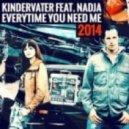 Kindervater Feat. Nadja - Everytime You Need Me  (Rework Edit)