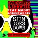 David Guetta & Showtek - Sun Goes Down  (Fly & Sasha Fashion Remix)